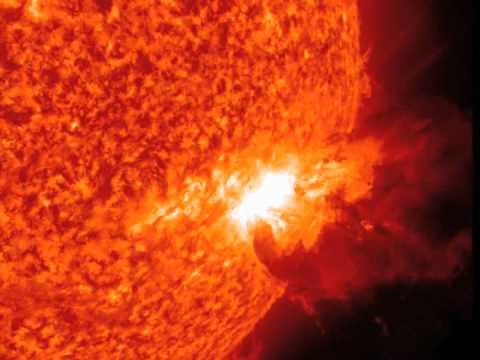 NASA SDO - Spectacular Prominence Eruption, June 7, 2011