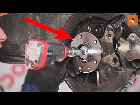 Wie SKODA SUPERB 2 Radlager hinten wechseln TUTORIAL | AUTODOC