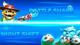 getlinkyoutube.com-Skylanders Swap Force PVP - Rattle Shake VS Night Shift