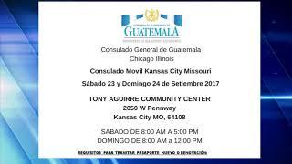 Consulado Móvil de Guatemala en Kansas City