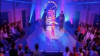 getlinkyoutube.com-Angie Mack hula hoop routine on CBBC TV show The Slammer