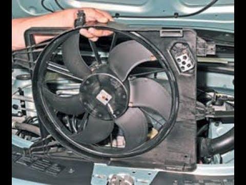 Не работает вентилятор охлаждения на renault ренно