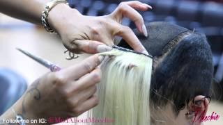 getlinkyoutube.com-Partial Quick Weave/Clipper Haircut Tutorial by @MadAboutMeechie