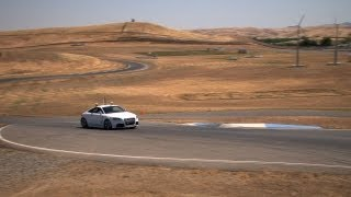 Shelley, Stanford's Robotic Car, Hits the Track