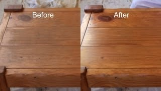 getlinkyoutube.com-A QUICK Alternative - How To Apply Polyurethane or Varnish Clear Finishes Alternative