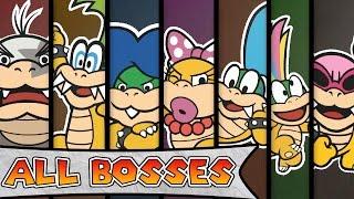 getlinkyoutube.com-Paper Mario Color Splash - All Boss Battles