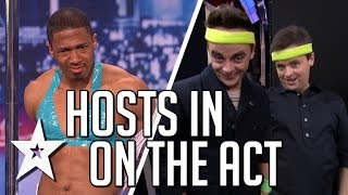 getlinkyoutube.com-Nick Cannon, Ant & Dec In On The Act | America's Got Talent & Britain's Got Talent