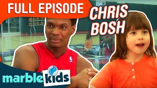getlinkyoutube.com-This is Emily Yeung Playing Basketball with Chris Bosh