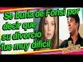 Se riie de Luis Fonsi por recordar de mala forma su divorcio Adamari Lopez