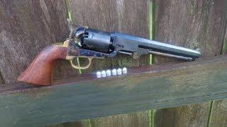 getlinkyoutube.com-Shooting the 1851 Colt Navy Revolver .36 Caliber