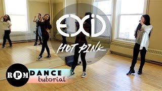 "getlinkyoutube.com-EXID ""Hot Pink"" Dance Tutorial (Chorus)"