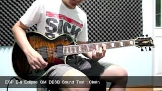ESP E-II Eclipse QM DBSB Sound test width=