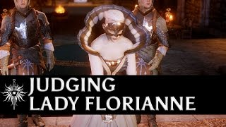 getlinkyoutube.com-Dragon Age: Inquisition - Judgment of Lady Florianne (all options)