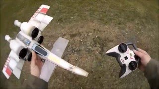 getlinkyoutube.com-STAR WARS X WING from Air Hogs- maiden and modification