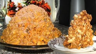 getlinkyoutube.com-Муравейник ТОРТ. Anthill cake. Karınca yuvası kek.