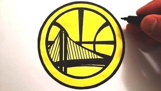How to Draw the Golden State Warriors Logo