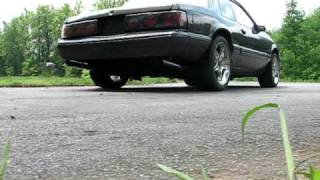 getlinkyoutube.com-Mustang 5.0 bbk shortys, b303, xpipe, flowmasters with tailpipes.