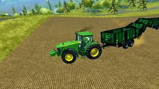 getlinkyoutube.com-50 trailers 1 tractor Farming Simulator 2013