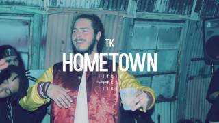 "getlinkyoutube.com-Post Malone Type Beat 2016 - ""Hometown"" (Prod. by TK)"