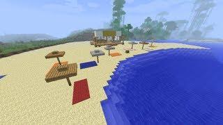 getlinkyoutube.com-【MineCraft】一級建築士を目指して!! 第7話 ~海の家/Sea house~ 【実況】