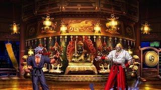 getlinkyoutube.com-[KOF Mugen] Mr. Karate vs Nightmare Geese (미스터 가라데 vs 나이트메어 기스)