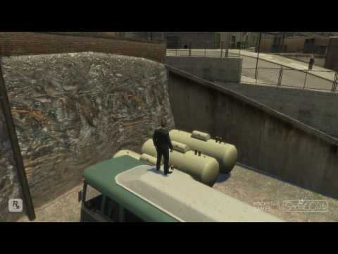GTA 4 Swing Set Glitch & Stunts