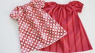 getlinkyoutube.com-Как быстро сшить детское платье