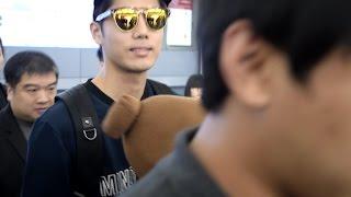 getlinkyoutube.com-20150801 SS501金圭(奎)鐘來台接機SS501 kim kyu jong Arrived in Taiwan Meet