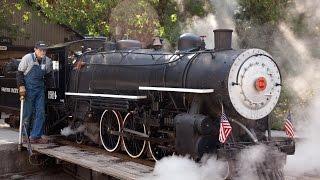 "getlinkyoutube.com-Swanton Pacific Railroad Live Steam 19"" gauge"