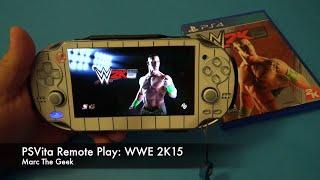 getlinkyoutube.com-PSVita Remote Play: WWE 2K15  (Ryback vs Roman Reigns)