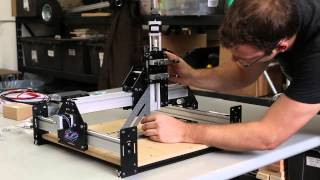 getlinkyoutube.com-Shapeoko 2 Works Kit Tutorial - Desktop CNC 3D Carver Router by Inventables