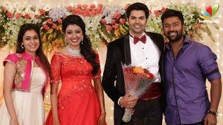 getlinkyoutube.com-Ganesh Venkatraman and VJ Nisha Krishnan Wedding Reception | Marriage Coverage