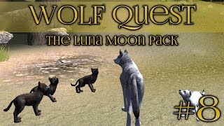 getlinkyoutube.com-Wolf Quest: Arrival of Springtime Puppies!! - Episode #8