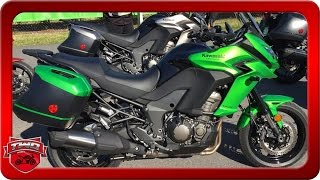 getlinkyoutube.com-2016 Kawasaki Versys 1000 LT Motorcycle Review