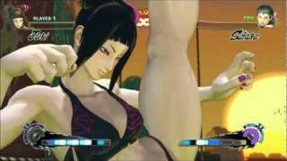 getlinkyoutube.com-Mods Are Fun: Swimsuit Edition - SSFIVAE - Juri Vs. Sakura
