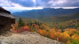 Scenic Time Lapse: Fall Foliage & Incredible Mountain Views - Asheville, North Carolina