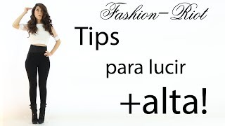 getlinkyoutube.com-Tips para lucir mas alta y delgada | Fashion Riot