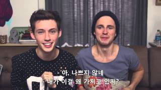 getlinkyoutube.com-[한글자막 Korean Subtitles] 7 Second Challenge with Marcus Butler! 마커스 버틀러와 7초게임 by Troye Sivan