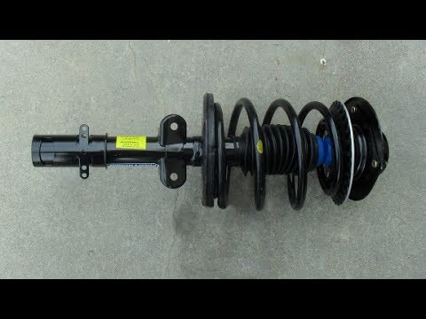 2005 Chrysler T&C Front Struts Replacement