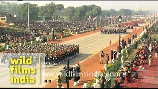 getlinkyoutube.com-Republic Day parade - full ceremony! - Part 1