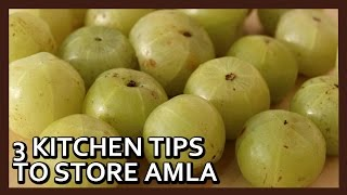 getlinkyoutube.com-How to Preserve Amla for months | How to Store Amla | Kitchen Tips by Healthy Kadai