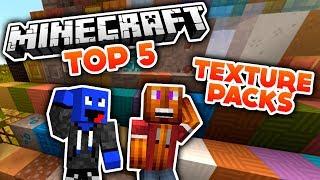 getlinkyoutube.com-Minecraft - Top 5 Texture Packs! (Deutsch/German)