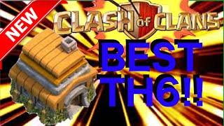 getlinkyoutube.com-The BEST TH6 Bases!!! Trophy, Hybrid, Farm/Loot & War Bases!   Clash Of Clans