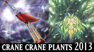 getlinkyoutube.com-[YGOPRO] Yu-Gi-Oh Duels Feat. Crane Crane Plants & Meliae Dragons Ruler Deck Sept 2013