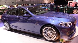 getlinkyoutube.com-2015 BMW Alpina B5 Bi-Turbo Edition 50 - 600hp - Walkaround - 2015 Geneva Motor Show