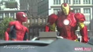 getlinkyoutube.com-Iron Man, Hulk y Spider Man [Español Latino]