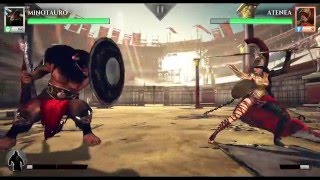 getlinkyoutube.com-Gods of Rome Duelo de los Dioses, Gameplay en Windows 10 PC