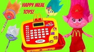 McDonald's Happy Meal Full Set of Troll Movie Toys! Cash Register