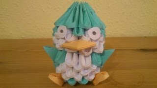 getlinkyoutube.com-3D Origami Pinguin Deutsch