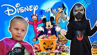 getlinkyoutube.com-Trick or Treating in DISNEYLAND! Disney Grand California Halloween Party 2015